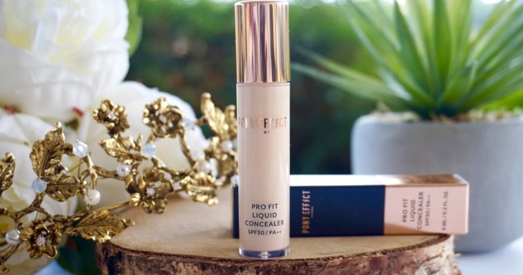 Pony Effect Pro Fit Liquid Concealer : l'anti-cernes couvrance maximum !