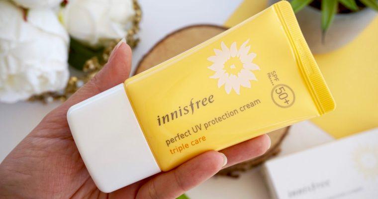 Crème Solaire Triple Care SPF 50 PA++++ Innisfree