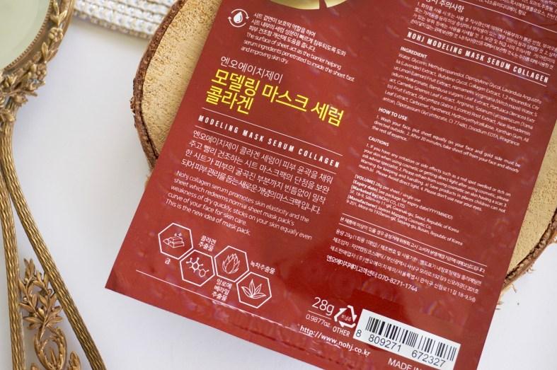 Masques en tissu Coréen Rétros Nohj
