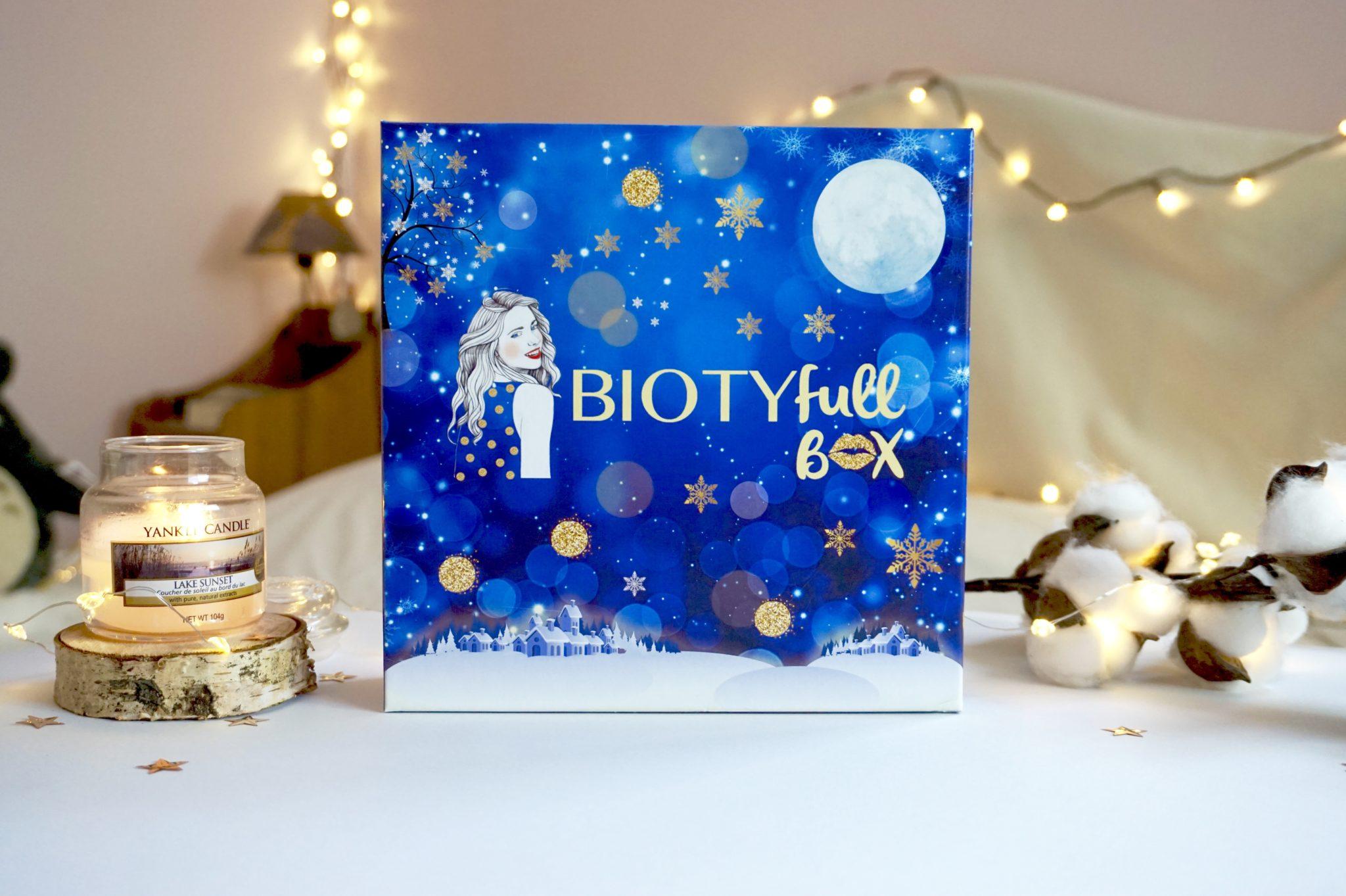 Biotyfull Box de décembre 2018 !