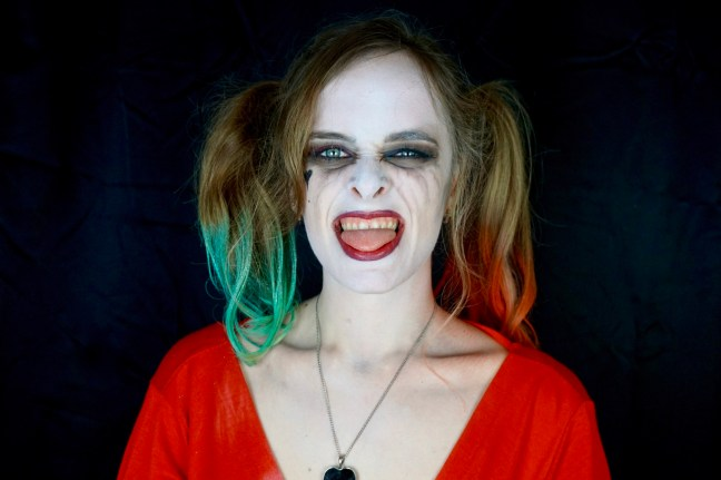 Elora Harley Quinn Makeup