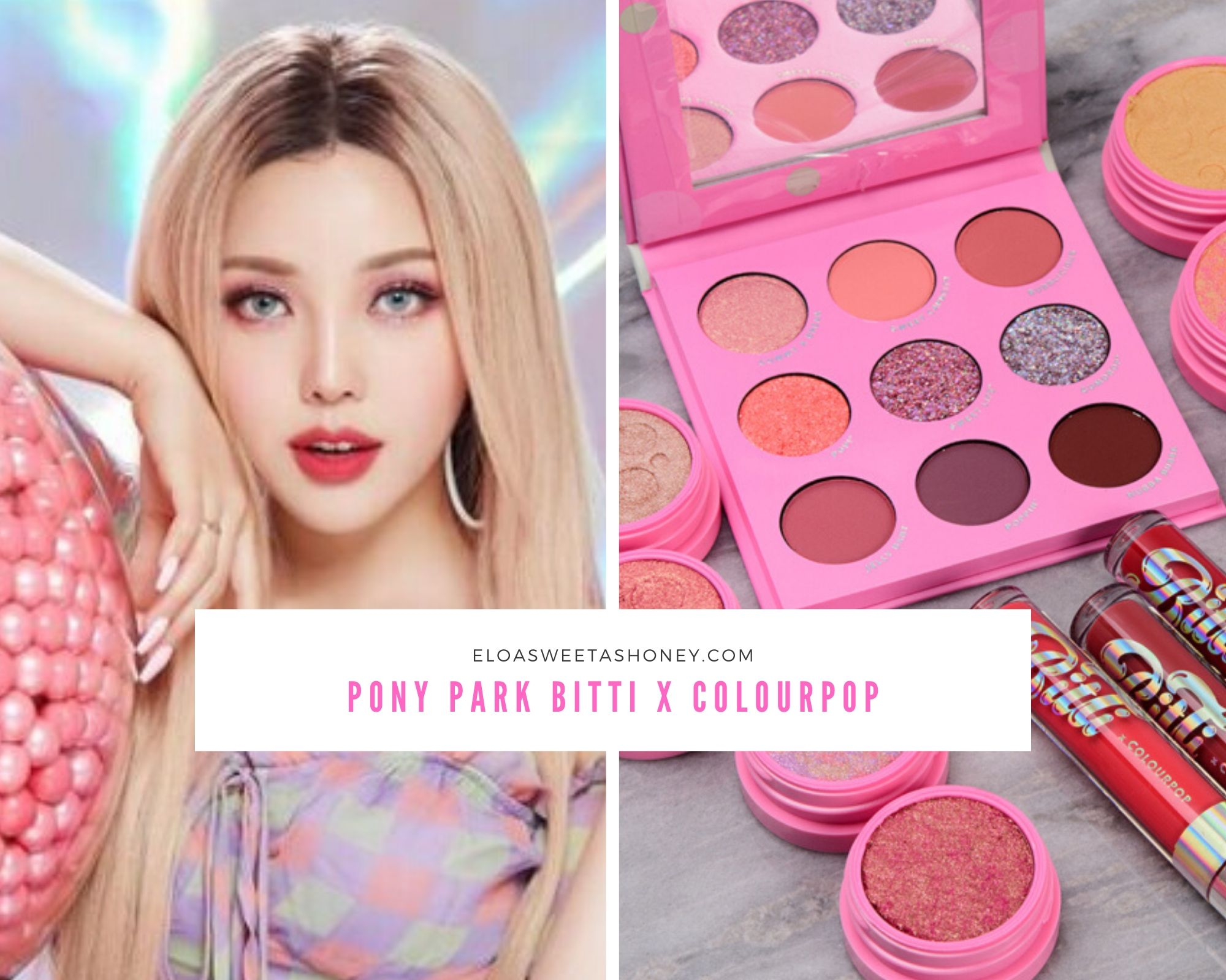 Collection Pony Park Bitti x Colourpop !