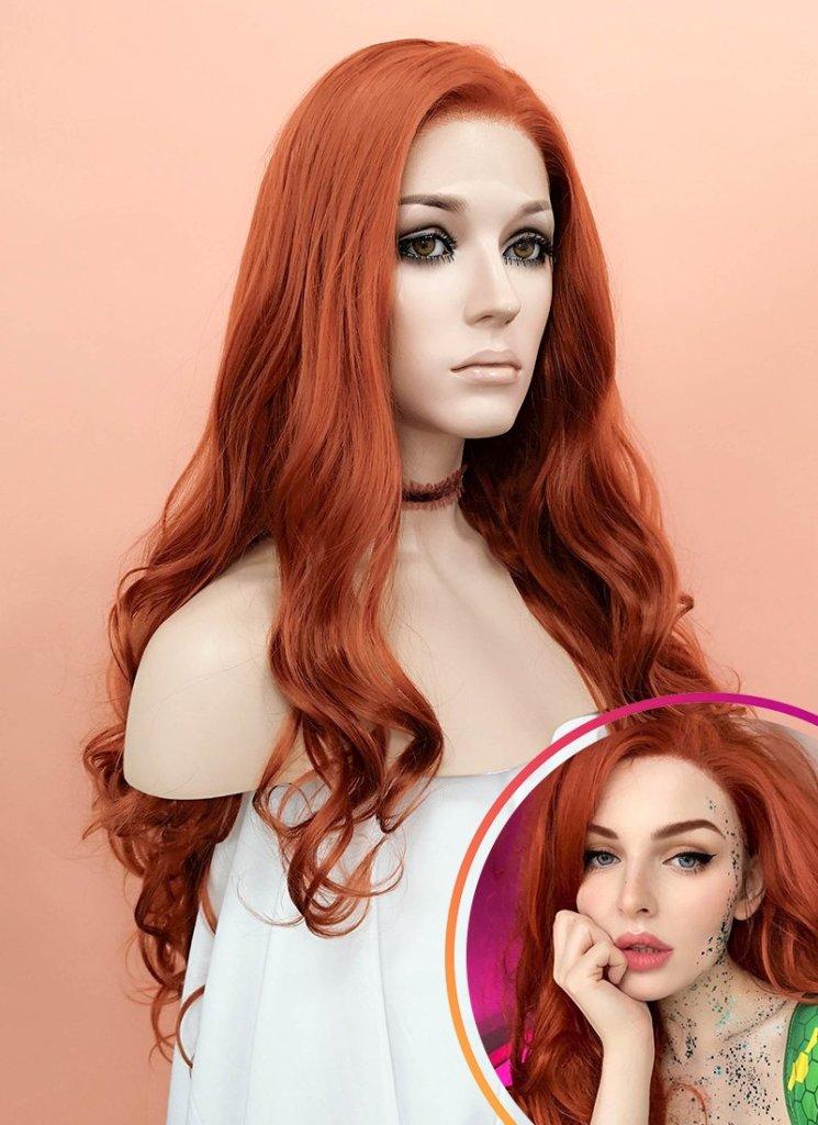 perruque auburn wig is fashion