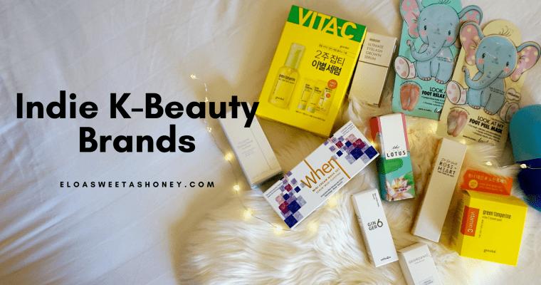 Indie K-Beauty Brands : nouvelles marques beauté coréennes à découvrir !