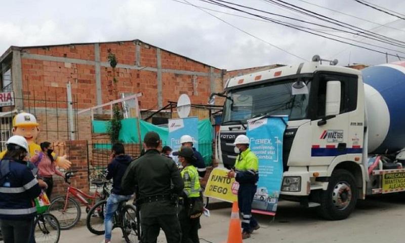 Cajicá: Sensibilizan sobre el peligro del Gravity Bike