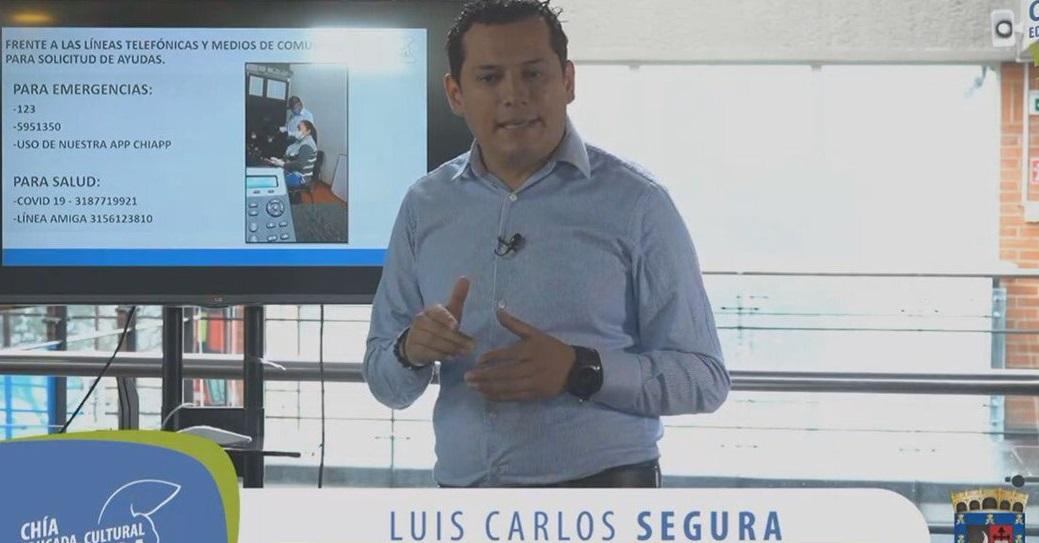 Confirmado: Alcalde de Chía dio positivo a Covid 19