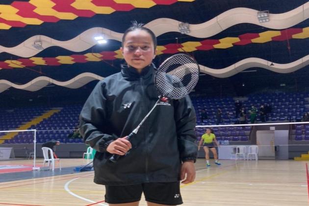 Laura Galeano de Chía es convocada a la selección nacional junior de bádminton