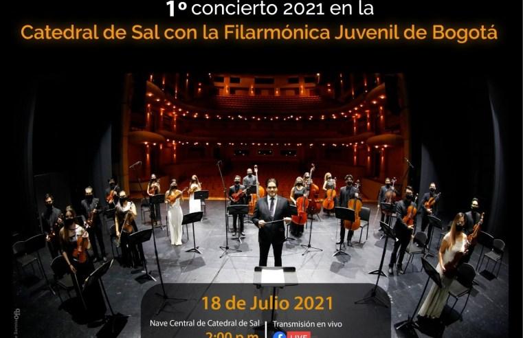 Realizarán concierto desde Catedral de Sal con la Filarmónica Juvenil de Bogotá