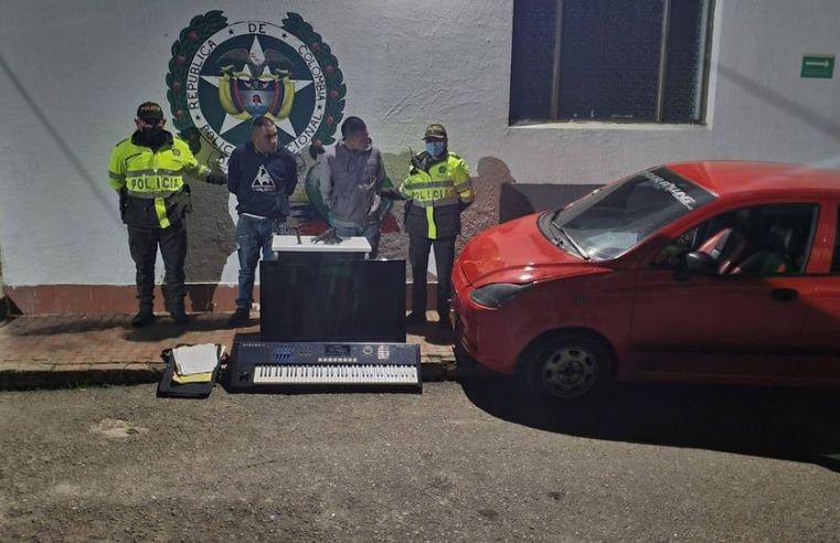 Zipaquirá: La policía detuvo a dos presuntos apartamenteros, otro sujeto se dio a la fuga
