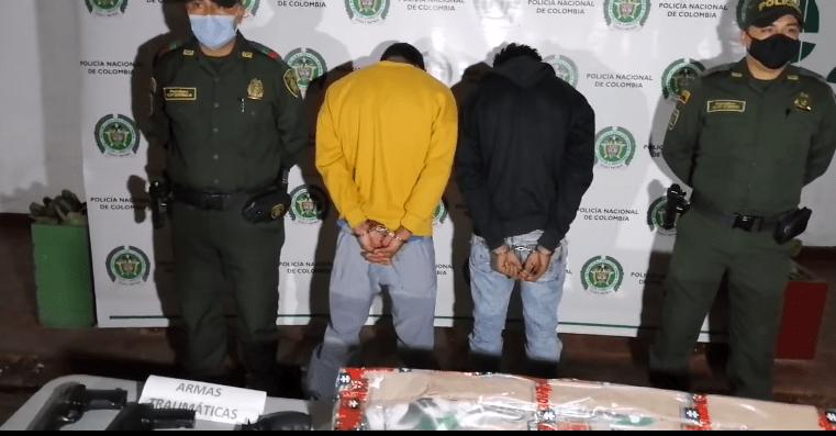 Chía: Capturados presuntos responsables del homicidio de un hombre en Fagua