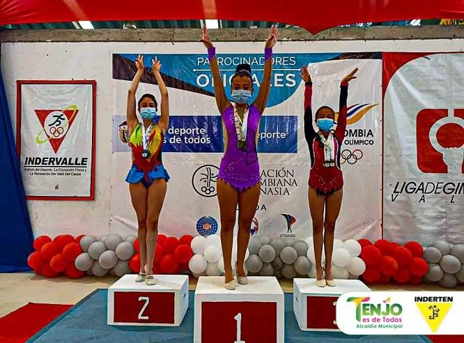 Tenjo se lleva 36 Medallas en el Campeonato Nacional de Gimnasia Rítmica
