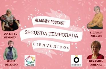 Escucha Aliadas Podcast especial primer aniversario