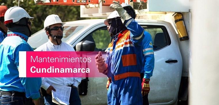 Cortes de energía en Chía, Cogua,  Nemocón, Tabio y Zipaquirá para los días 19 y 20 de octubre