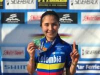 La ciclomontañista de Zipaquireña María José Salamanca, ayer 22 de octubre ganó la primera carrera de la Epic MTB Racer en Salamina Grecia.