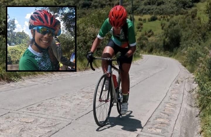 Zipaquireña Sofía Salgado ganó la primera etapa de la Vuelta a Cundinamarca Juvenil 2021