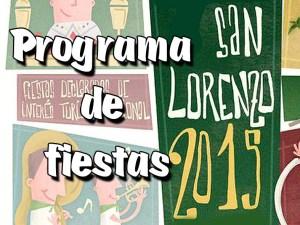 PROGRAMA FIESTAS  SL 2015 CRONICA