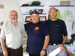En el centro, Alberto Naval, ganador de la prueba / Foto: CT Loreto