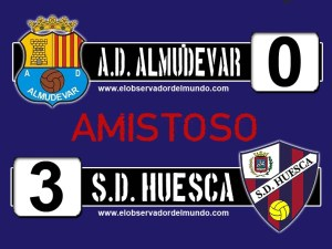 A.D. Almudevar 0 - 3 S.D. Huesca