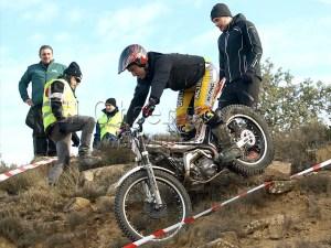 Imagen de la prueba disputada en el circuito de la localidad de Tierz / Foto: C.Pascual
