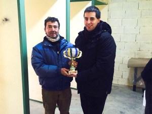 Luis Montaner brillante campeón de la segunda fase del campeonato de Invierno / Foto: CT Loreto