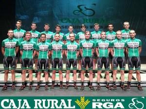 Equipo Caja Rural para la  Vuelta 2016