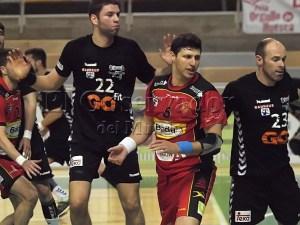 Doldán en un partido con Bada Huesca / foto: C.Pascual