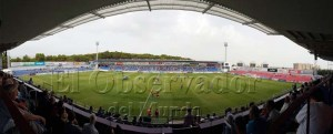 Unos 1500 espectadores acudieron al Alcoraz / Foto: Sergio Bueno