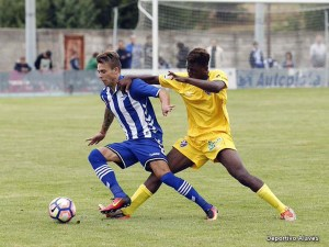 Momento del partido / Foto: Deportivo Alavés
