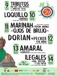 Conciertos de las Peñas para San Lorenzo 2016