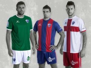 Equipaciones para temporada 2016-17 / Foto: SD Huesca