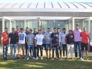 Plantilla para la temporada 2016-17 excepto las dos ausencias de Teixeira y de Félez / Foto: Nacho V.