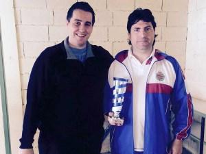 Miguel Ángel Villamañan Subcampeón del trofeo y mejor deportista local clasificado / Foto: CT Loreto