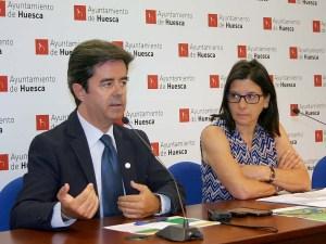 Luis Felipe y Teresa Sas / Foto: Ayto. de Huesca