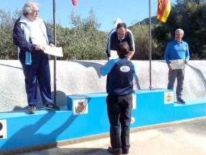 Jaime Pagés en el podio de honor de la copa presidente / Foto: CT Loreto