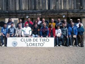 Participantes al finalizar la competición  / Foto: CT Loreto