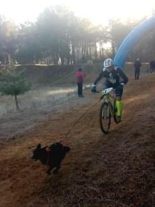 Imagen de la competición disputada en Ólvega / Foto: Club Oscanicross