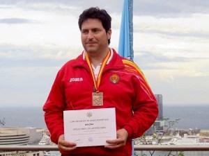 Miguel Ángel Villamañan subcampeón de la prueba / Foto: CT Loreto