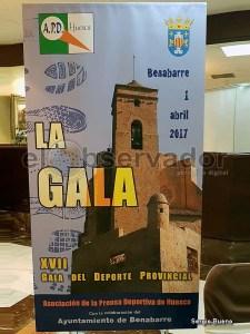 Cartel de  la XVII Gala / Foto: Sergio Bueno