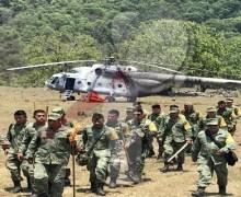 Continúan esfuerzos para combatir incendio forestal en la Sierra Gorda