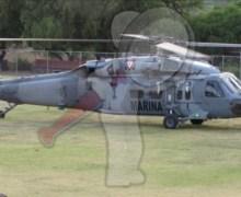 Se desploma helicóptero que apoyaban en sofocar incendio en la Sierra Gorda