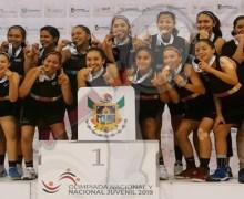 Queretanas campeonas nacionales de basquetbol