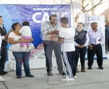 Anuncian construcción de arcotecho en primaria de El Jazmín