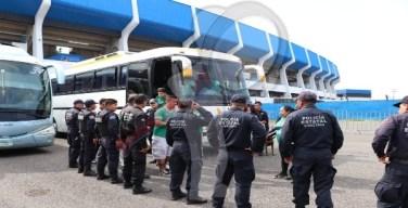 Riñas a las afueras del Estadio Corregidora causan detenciones
