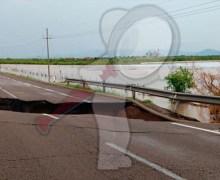 Se abre socavón en la autopista Mazatlán – Culiacán