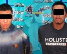 Aseguran a masculinos con drogas en Pedro Escobedo