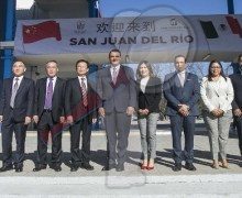 El Presidente Municipal Memo Vega firma memorándum de entendimiento con China
