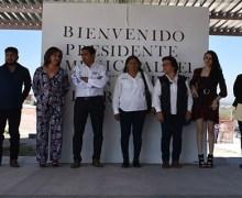 Supervisa Amarildo Bárcenas obras de mejora educativa y urbana
