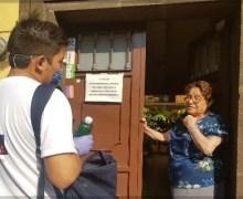 Inicia gobierno sanjuanense entrega de gel antibacterial