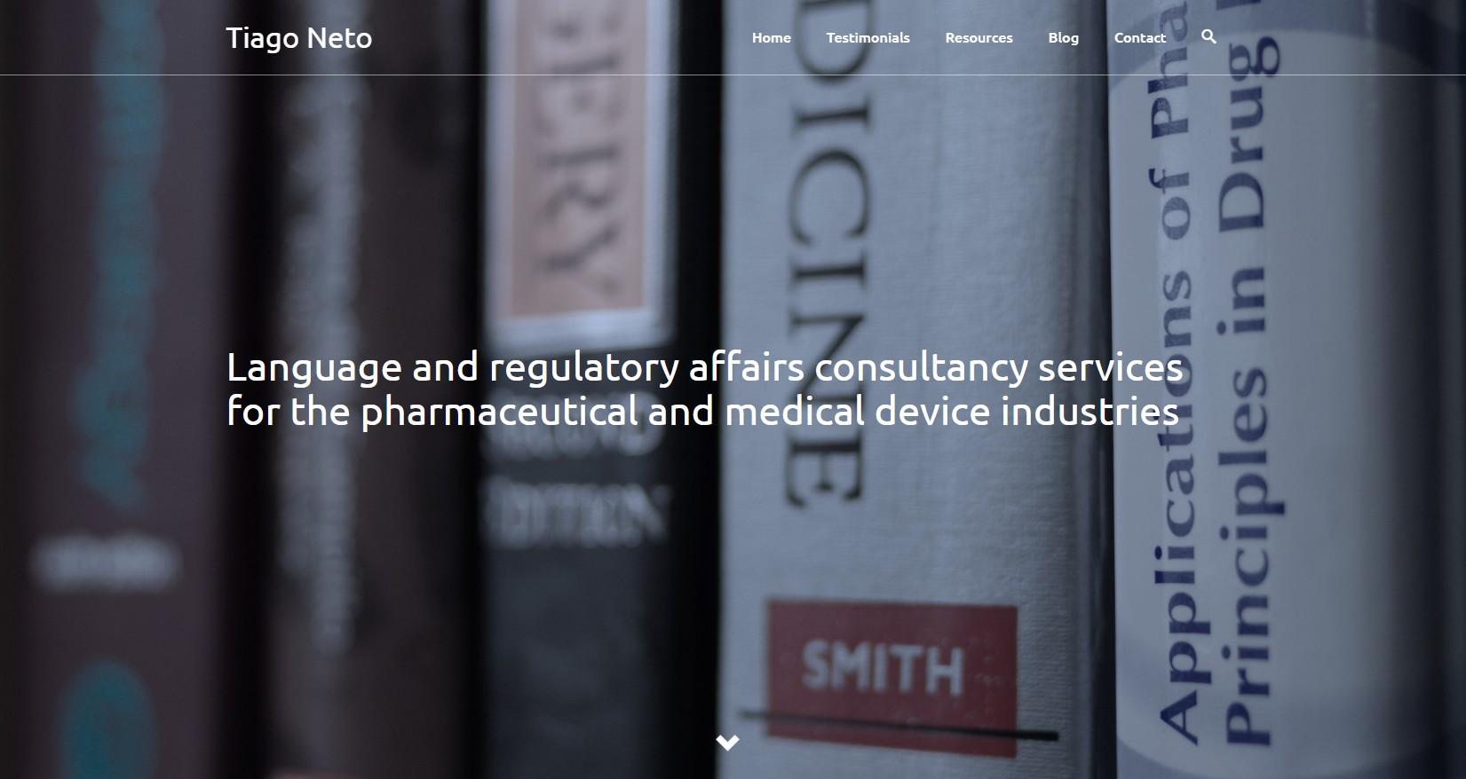 Website tiagoneto.com