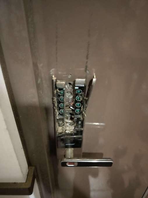 電子鎖故障打不開